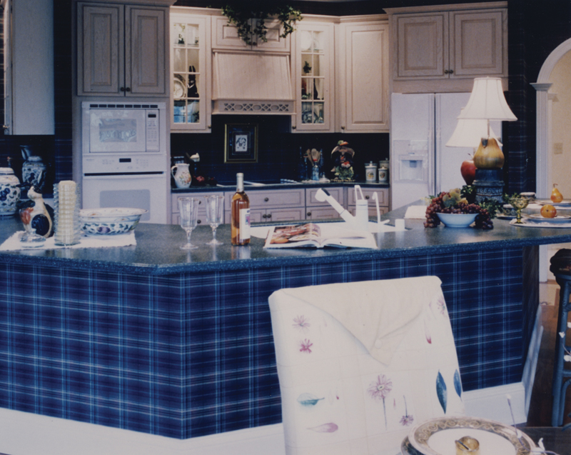 Colonial Floor Plan Kitchen Photo 01 065D-0160