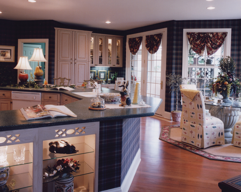 Georgian House Plan Kitchen Photo 02 065D-0160