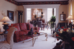 Colonial Floor Plan Living Room Photo 02 - 065D-0160 | House Plans and More