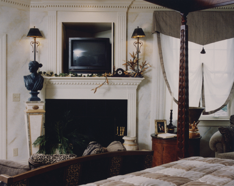 Greek Revival Home Plan Master Bedroom Photo 02 065D-0160