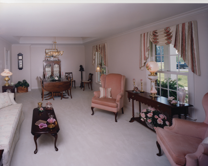 Neoclassical Home Plan Living Room Photo 01 065D-0164