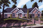 Neoclassic Ranch Home Design