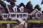 Cape Cod Style Home With Traditional Design Attributes