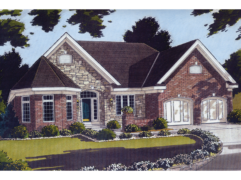 Traditional House Plan Front Image - 065D-0187 | House Plans and More