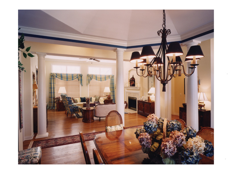 Traditional House Plan Great Room Photo 02 - 065D-0187   House Plans and More
