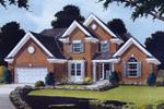 Impressive Brick And Multiple Roof Lines