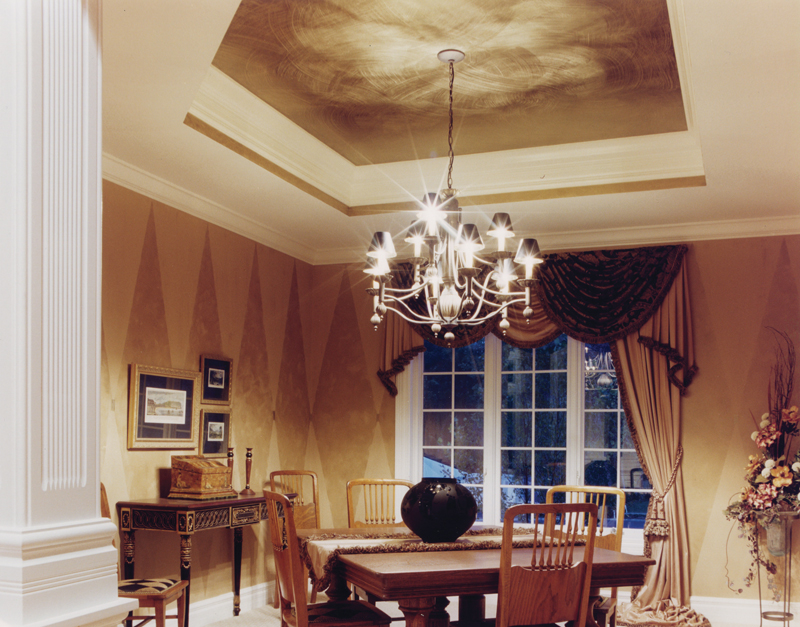 Ranch House Plan Dining Room Photo 01 065D-0208