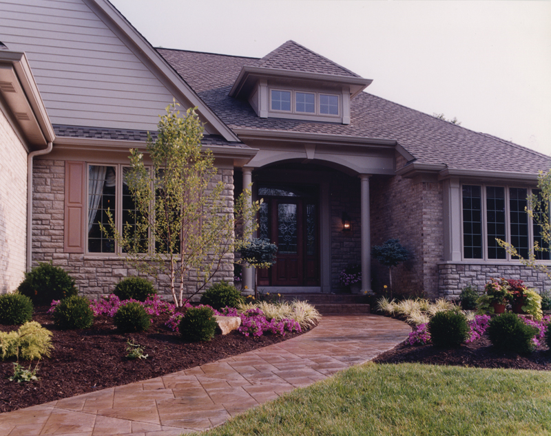 Luxury House Plan Entry Photo 01 065D-0208