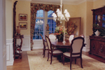 Country French Home Plan Dining Room Photo 01 - 065D-0229 | House Plans and More