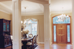 Country French Home Plan Dining Room Photo 01 - 065D-0230 | House Plans and More