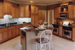 European House Plan Kitchen Photo 02 - 065D-0230 | House Plans and More