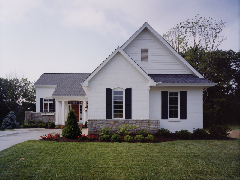 Traditional House Plan Front of Home 065D-0231