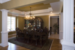 Country French Home Plan Dining Room Photo 01 - 065D-0250 | House Plans and More
