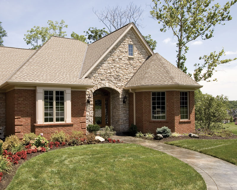 Country French Home Plan Entry Photo 01 065D-0250