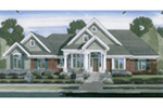 Sprawling Home Design Has Stylish Curb Appeal