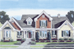 Craftsman Inspired House Has Shingle Style Siding