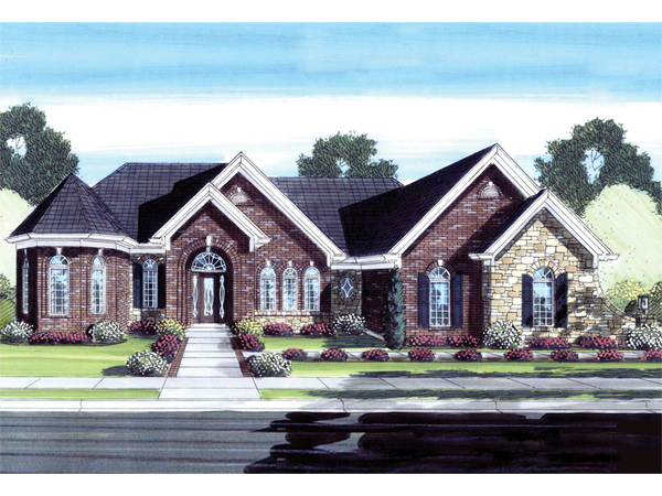 Arriola Luxury Ranch Home Plan 065D 0284 House Plans And More