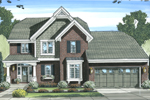 Box Bay Window Adds Character To This Traditional Home