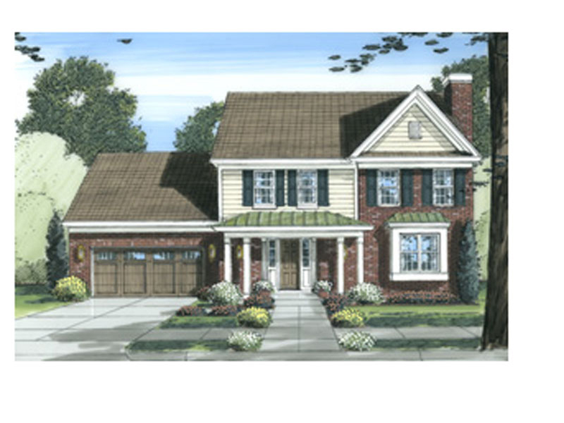 Arts & Crafts House Plan Front of Home - 065D-0299 | House Plans and More