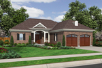 Traditional House Plan Front of Home - 065D-0309 | House Plans and More