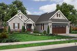 Craftsman House Plan Front of Home - 065D-0314 | House Plans and More