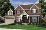 Country House Plan Front of Home - 065D-0319 | House Plans and More