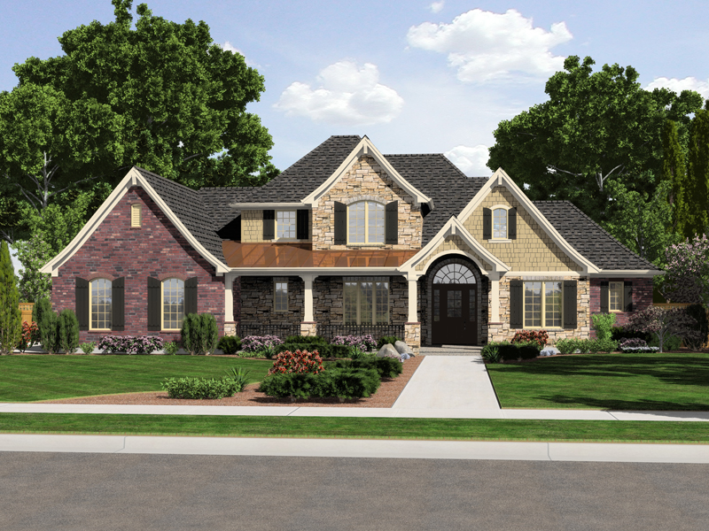 European Country Style House Plans House And Home Design