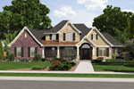 Craftsman House Plan Front of Home - 065D-0325 | House Plans and More