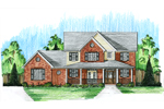 Farmhouse Plan Front Photo 01 - 065D-0330 | House Plans and More