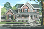 Farmhouse Plan Front Photo 02 - 065D-0330 | House Plans and More