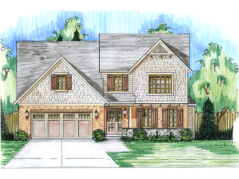 Lowcountry House Plan Front Photo 01 - 065D-0331 | House Plans and More