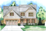 Shingle House Plan Front Photo 01 - 065D-0331 | House Plans and More