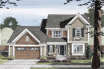 Traditional House Plan Front Photo 01 - 065D-0333 | House Plans and More