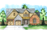 Arts & Crafts House Plan Front Photo 01 - 065D-0335 | House Plans and More