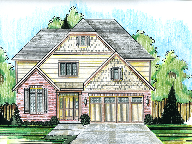 Traditional House Plan Front Image - 065D-0353 | House Plans and More