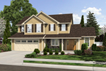 Country House Plan Front of Home - 065D-0356 | House Plans and More