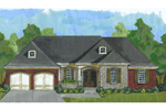 European House Plan Front Image - 065D-0359 | House Plans and More