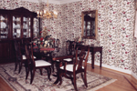 European House Plan Dining Room Photo 01 - 065S-0008 | House Plans and More
