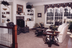 Traditional House Plan Great Room Photo 02 - 065S-0008 | House Plans and More
