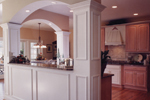 Cape Cod and New England Plan Kitchen Photo 02 - 065S-0008 | House Plans and More