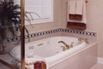 European House Plan Master Bathroom Photo 01 - 065S-0008 | House Plans and More