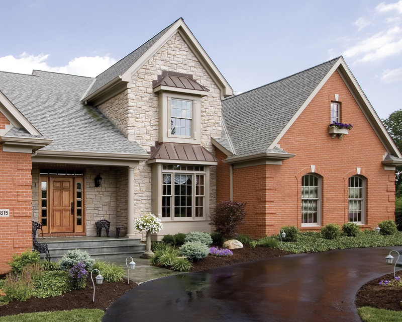Country French Home Plan Entry Photo 01 065S-0014