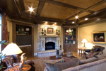 English Tudor House Plan Family Room Photo 02 - 065S-0030 | House Plans and More