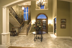 European House Plan Foyer Photo - 065S-0030 | House Plans and More