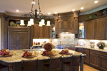 Tudor House Plan Kitchen Photo 01 - 065S-0030 | House Plans and More