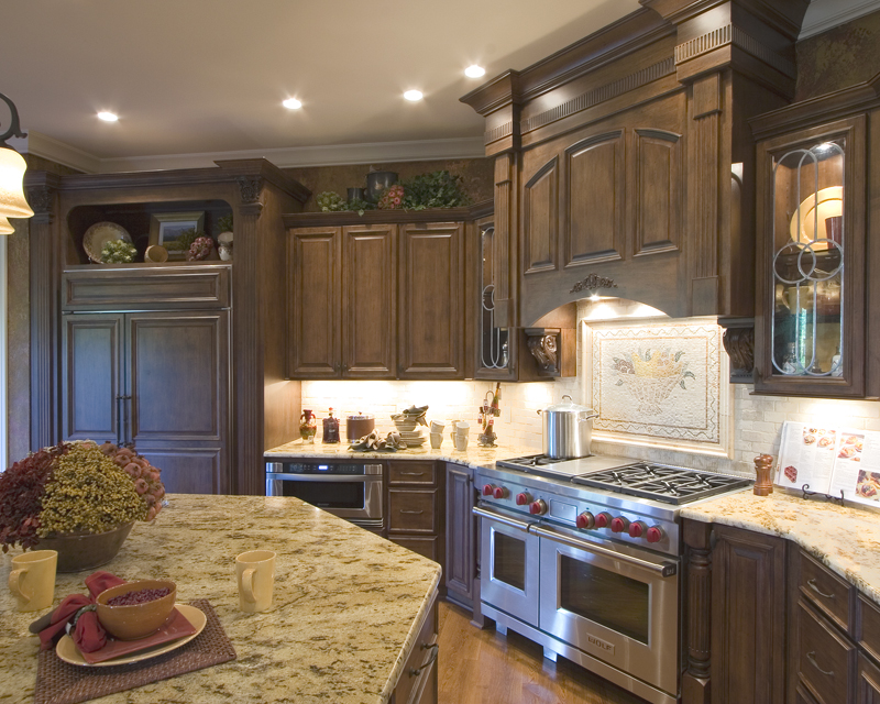 European House Plan Kitchen Photo 02 065S-0030