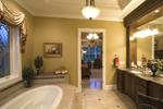 European House Plan Master Bathroom Photo 02 - 065S-0030 | House Plans and More