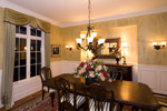 Early American House Plan Dining Room Photo 02 - 065S-0031 | House Plans and More