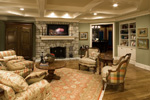 Colonial House Plan Great Room Photo 02 - 065S-0031 | House Plans and More