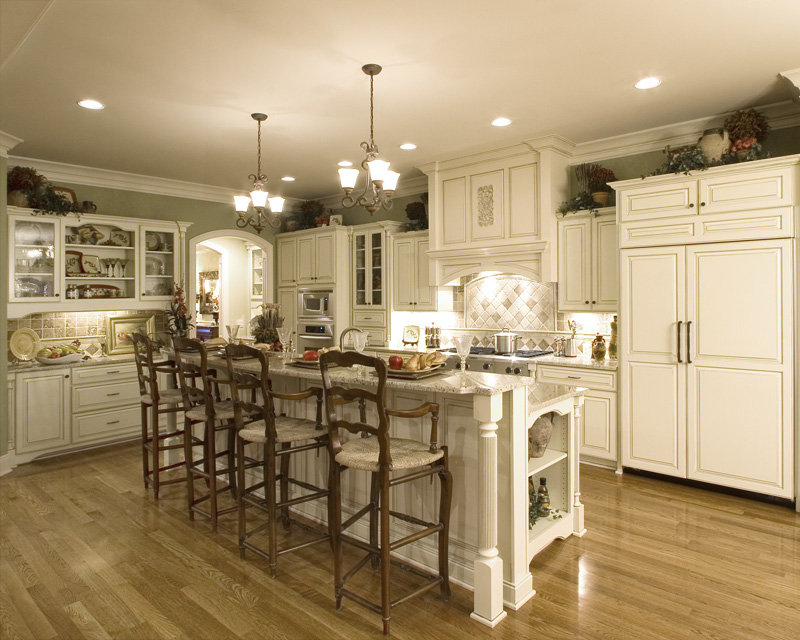 Colonial Floor Plan Kitchen Photo 01 - 065S-0031 | House Plans and More